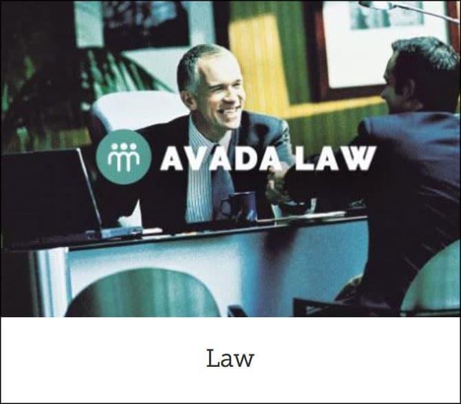 Avada Law Theme